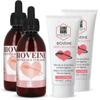 Pack Bioveine XL - 2x250 ml + Crème Bioveine 2x100 ml